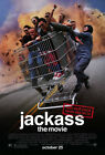 Внешний вид - Jackass the Movie (2002) Movie Poster, Original, SS, Unused, NM, Rolled