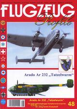 Arado Ar 232 Tatzelwurm geländegängige Kampfzonentransporter Flugzeug Profile 48