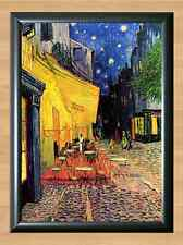 VINCENT VAN GOGH Cafe Terrace at Night Art Home Wall Decor A4 Print Poster Photo
