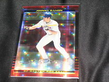 JOHNNY DAMON RED SOX LEGEND LIMITED EDITION AUTHENTIC BASEBALL CARD RARE 134/250
