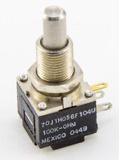"""Clarostat 100K Ohms Mod Pot Linear Taper Potentiometer 1W 1 Watt MODPOT .25"""""""
