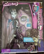 Monster High Frankie Stein Ghouls Rule Deluxe Doll NIB Retired