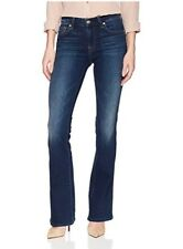 7 For All Mankind Woman's Jeans Dark Wash Bootcut Pants Size 26 NWT