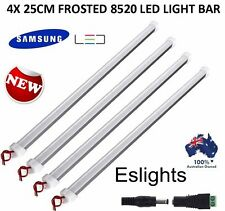 4X 25CM 8520 LED STRIP LIGHT BAR 12V DC CAMPING CARAVAN CAMPING 4WD UTE AWNING