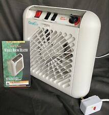NEW Circulair 1500W Whole Room Electric Portable Heater w/ Fan & Thermostat