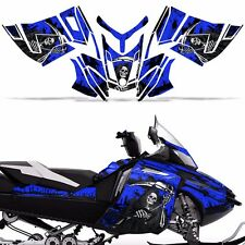 Rev XR Decal Graphic Kit Ski Doo Skidoo Sled Snowmobile Wrap Summit 13+ REAP BLU