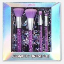 Justice Just Shine Purple Sparkle Make Up Brush Set New in Box