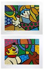 "ROMERO BRITTO ""TENNIS SUITE"" 1994 