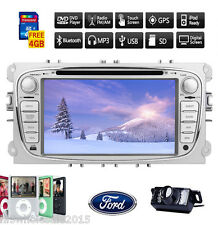 "7"" Double 2Din Radio In Dash GPS Car Stereo DVD Player For Ford Focus Mondeo+Cam"