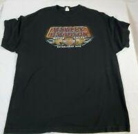 Harley Davidson Men's Short Sleeve Shirt Black Size 2XL Yankee HD Bristol, CT