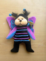 SKANSEN BEANIE KIDS WITH TAGS - HOVER THE BUTTERFLY BEAR 2005. BK 502