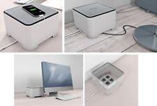 Allibert  Kabelbox Ebox Weiß Grau Cablebox Kabelorganisation Organizer UVP % NEU