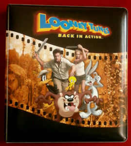 LOONEY TUNES - BACK IN ACTION - OFFICIAL Trading Card Binder - Inkworks 2003