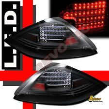 2003 2004 2005 Honda Accord 2Dr Coupe 2 Door Black LED Tail Lights RH & LH