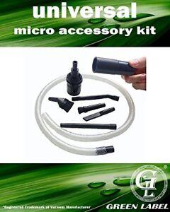 Kit de fixation universel pour aspirateur Mini Micro 30-38 mm (Miele, Hoover, LG