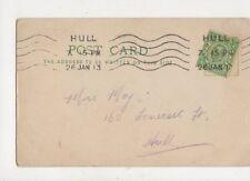 Mrs Moy Somerset Street Hull 1913  778a