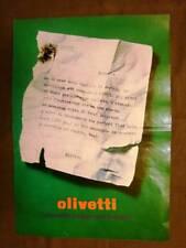 Olivetti Lettera 32 Pubblicità vintage anni 70
