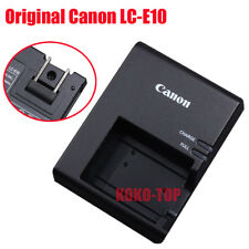 Genuine Canon LC-E10 Charger For LP-E10 EOS 1100D 1200D 1300D Rebel T3 T5 T6 T7