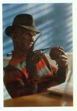FREDDY KRUEGER-#105-098-HOLDING APPLE-(M-413F*)POSTCARD