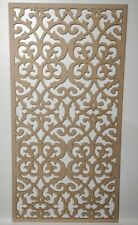 Radiator Cabinet Decorative Screening Perforated 3mm & 6mm thick MDF lasercutG30