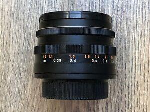 Pentacon 30mm f3.5 (Meyer Optik) Lydith Prime Lens M42