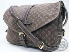 Sale! AUTH PRE-OWNED LOUIS VUITTON LV MINI LIN SAUMUR 30 MESSENGER M95227 160194
