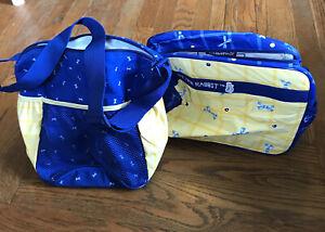 Set Of 2 Peter Rabbit Insulated Baby Diaper & Bottle Breastfeeding Success Bag