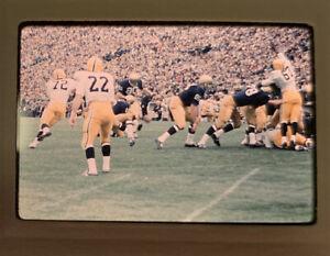 1967 Notre Dame Fighting Irish Football v Iowa Photo Slide 35mm South Bend IN 13