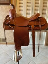 Dale Fredricks custom western saddle 16.  Great condition.
