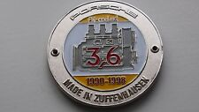 PORSCHE 911 964 CARRERA 4 CARRERA 2 RS RSA Turbo griglia Badge - 3,6 litri plakett