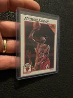 Michael Jordan 1991 NBA Hoops #30 BASKETBALL ICONIC Chicago Bulls NR INVEST