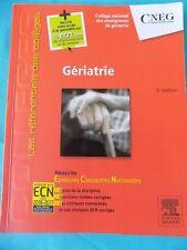 Gériatrie: Réussir les ECNi, Collège National des Enseignants de.. Elsevier Mass