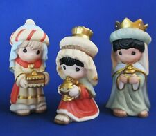 Nos 2018 Precious Moments 199303 Following Yonder Star 3 Wisemen Kings Nativity