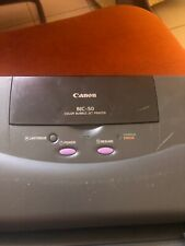 Canon bjc-50 Printer Portable Color Bubble Jet