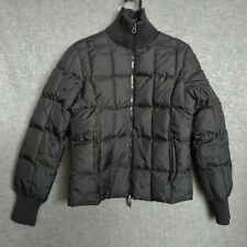 Tommy Jeans USA Ski Team Puffer Jacket Black Women's M Retro
