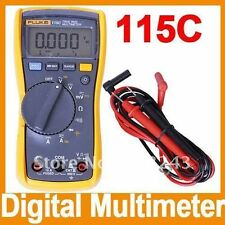 NEW Fluke F115 115C Field True RMS Multimeter 1000uF Backlight w/ Bag