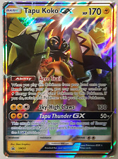 Tapu Koko-GX Holo Rare SM33 -Black Star Promo -NM- Pokemon Island Guardians Tin