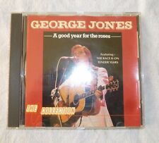 George Jones  * A Good Year For The Roses  *  12 Track Classic Country cd
