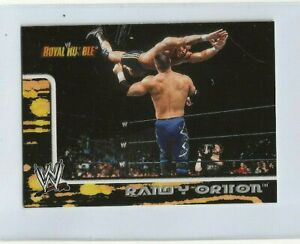 2002 RANDY ORTON Fleer WWE Royal Rumble ROOKIE CARD #14  RARE  GRADABLE