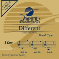 Micah Tyler - Different -  Accompaniment / Performance Track - New