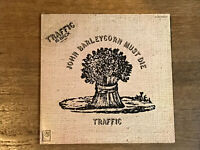 Traffic LP w/ Hype Sticker - John Barleycorn Must Die - United Artists UAS 5504
