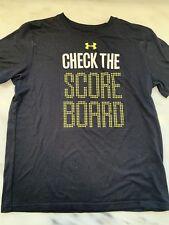 5 pcs boys athletic pants & T's - Sz 10 to Y Sm. Nike, Adidas, Ua, Cld Plc Polo