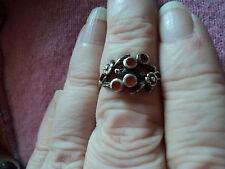 Agate Ring Vintage Fine Jewellery (1970s)