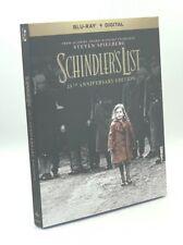 Schindler's List (Blu-ray+Digital, 2018; 25th Anniversary Ed.) New w/ Slipcover