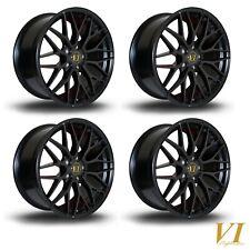 "4 x 6Performance 18"" MD alloys fits VW Golf Mk5 Mk6 Mk7 Caddy Seat Leon A3 5x112"