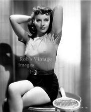 BULLET BRA MAMA  photo Retro 1930's 1940s Paulette Goddard Sweater Girl 8 X10