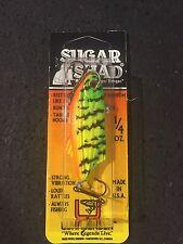Luhr Jensen Sugar Shad 1/4 Oz Fire Tiger