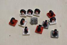 Lego 12 Stück 8c01 Rad Reifen Konvolut 2x2