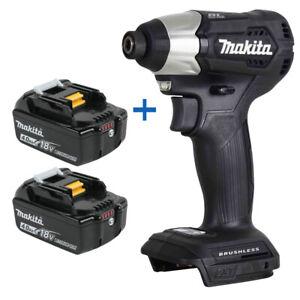 "New Makita XDT15ZB 18V 1/4"" Hex Impact Driver w/ BL1840B-2 18V 4.0Ah Battery"