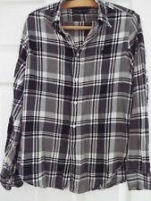 "Ralph Lauren Flannel Brushed Cotton Check Shirt M 40-41"" Chest"
